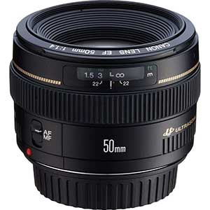 Canon EF 50mm Lens for Fashion Photography | F1.4 | USM Standard