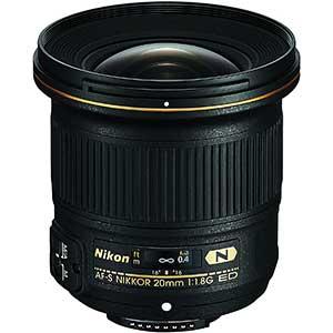 Nikon AF-S FX NIKKOR Lens for Fashion Photography | 20mm | F/1.8