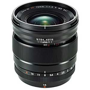 XF16mm Fuji Lens for Street Photography | F1.4 R | WR