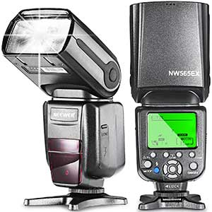 Neewer NW565EX E-TTL Slave Flash Speedlite | Perfect Companion