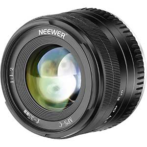 Neewer Prime APS-C Vintage Lenses for Fuji | 35mm | F1.2 | 180g
