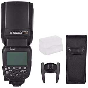 YONGNUO YN600EX-RT Flash for Canon 5d Mark iii | Wireless | Brighter