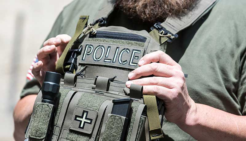 Plate Carriers for Law Enforcement