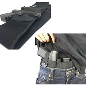 Concealed Carrier Concealed Carry Holster for Sitting | Flexible