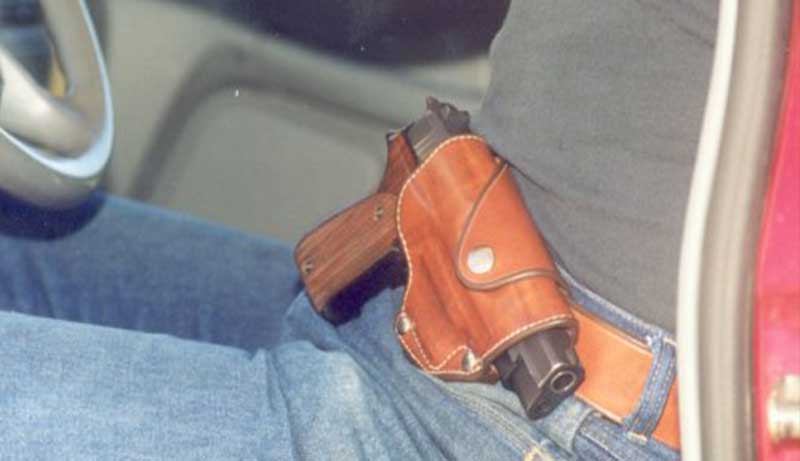 Concealed Carry Holster for Sitting