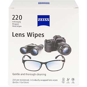 Zeiss Lens Cleaning Wipes | Micro-fine Tissue